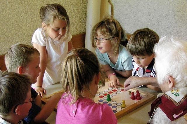 Sommerfest im Pflegeheim