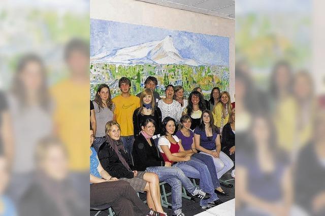 Cézannes Geist leuchtet im Klassenraum