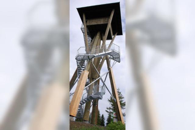 Hasenhornturm wird eingeweiht