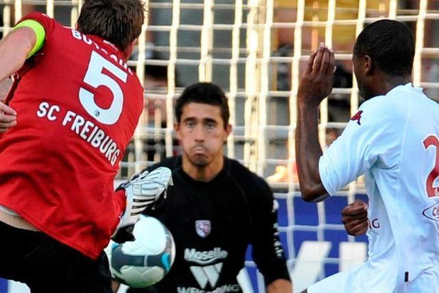 Testspiel: SC Freiburg unterliegt FC Metz mit 1:2