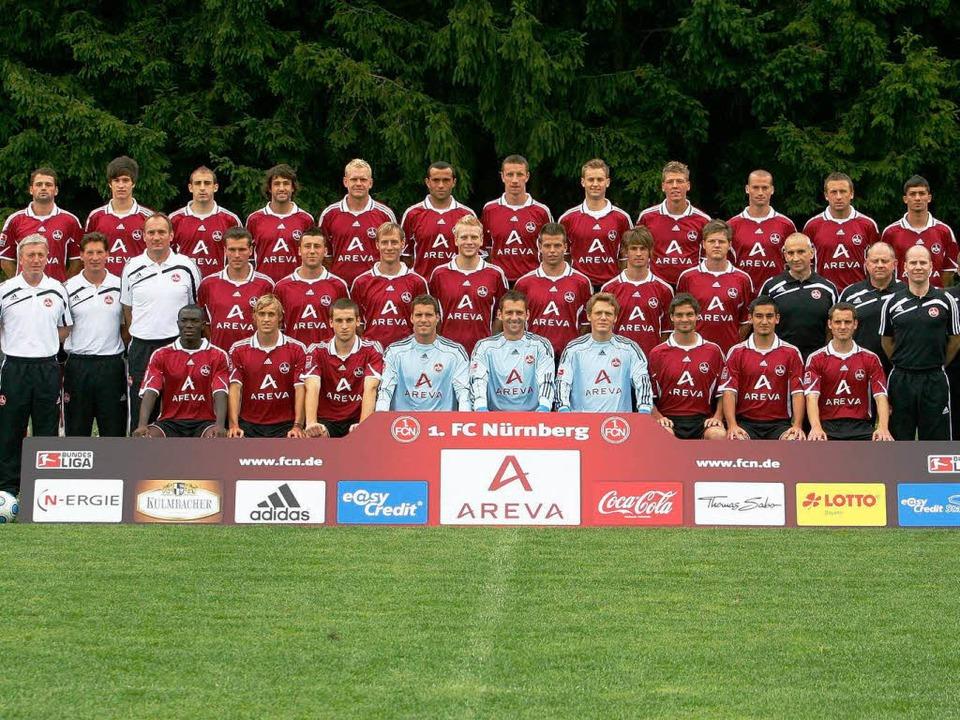 Wo kommen diese Jungs her? Der Kader des 1.FC Nürnberg.  | Foto: ddp