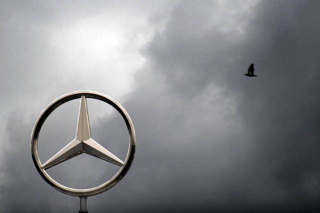 Daimler macht Milliarden-Verlust