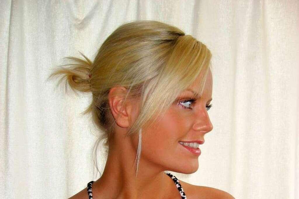 Blonde Schwedin