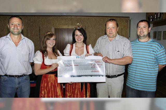 1000 Euro für guten Zweck