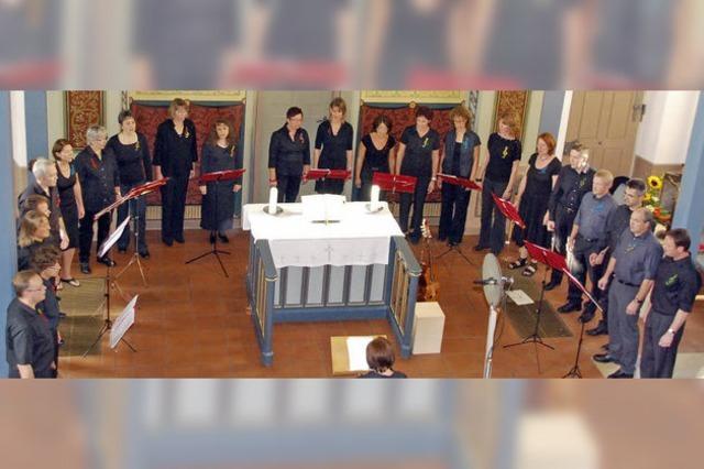 Traditionelle Volkslieder in originellem Arrangement