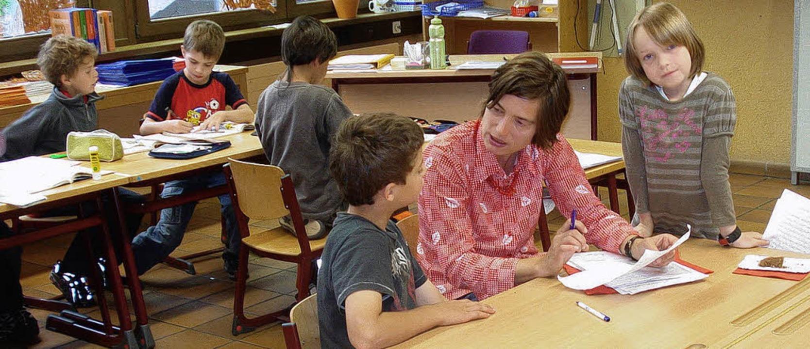 In der Schreibwerkstatt mit den jungen Talenten<ppp> </ppp>  | Foto: privat