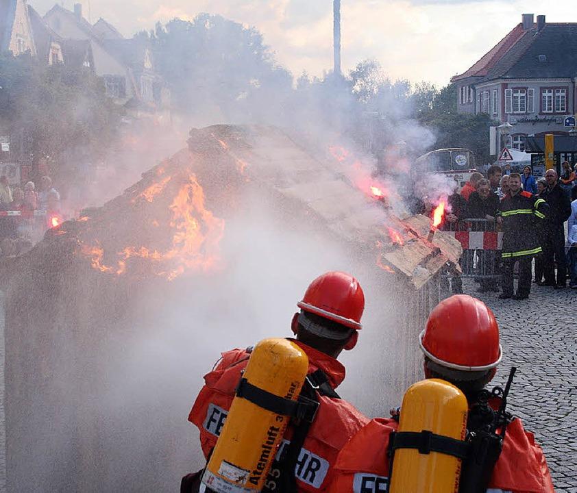 Dem Nachwuchs gehört am Sonntag die Ab....  Jubiläum  der Feuerwehr Offenburg.     Foto: Stadt Offenburg
