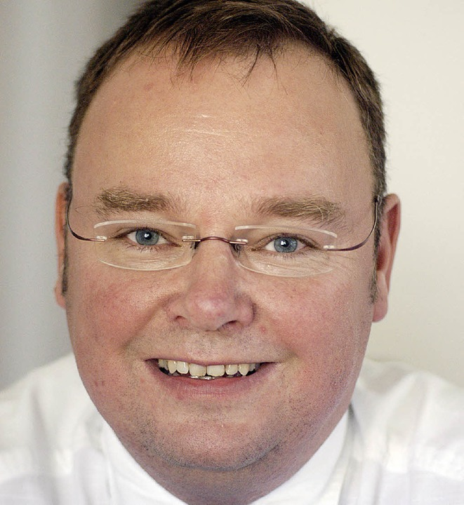 Heinz-Rudolf   Hagenacker        ist  von heute  an Bürgermeister   in Teningen.    Foto: Robert Bergmann