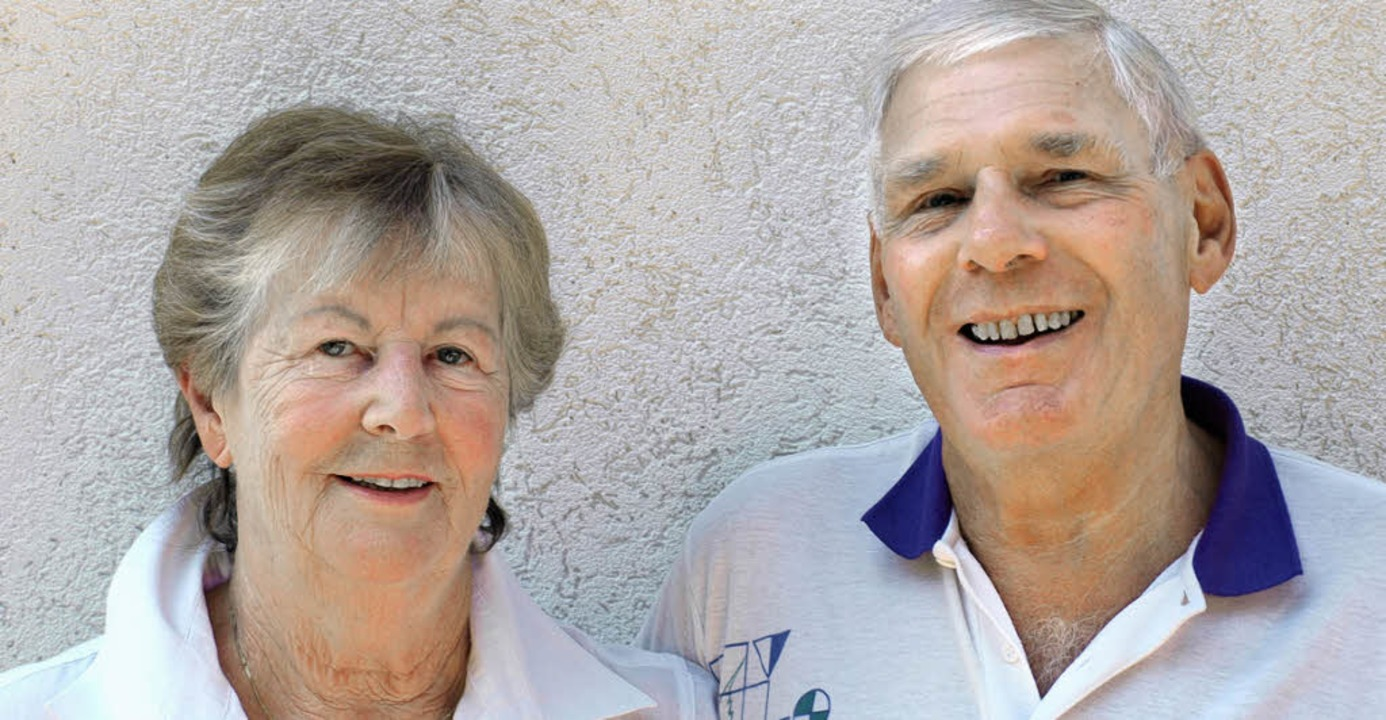 50 Jahre ein Ehepaar: Ingeborg und Gerhard Bürgin   | Foto: Paul Schleer