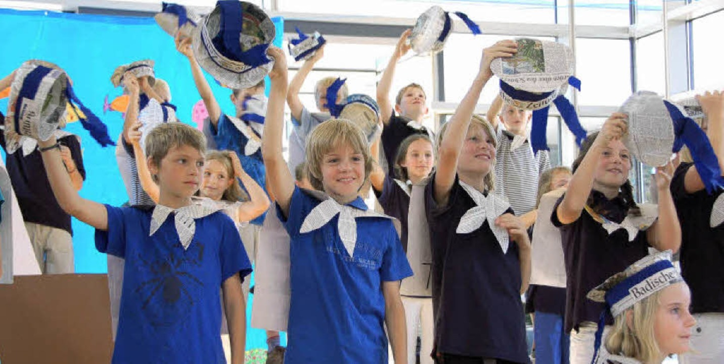 Zisch-Abschlussfest an der Neunlindenschule in Ihringen    Foto: Yvonne Weik