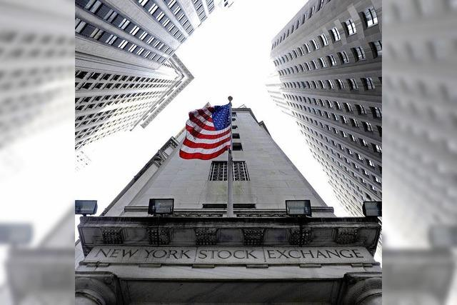 US-Wirtschaft drosselt Talfahrt