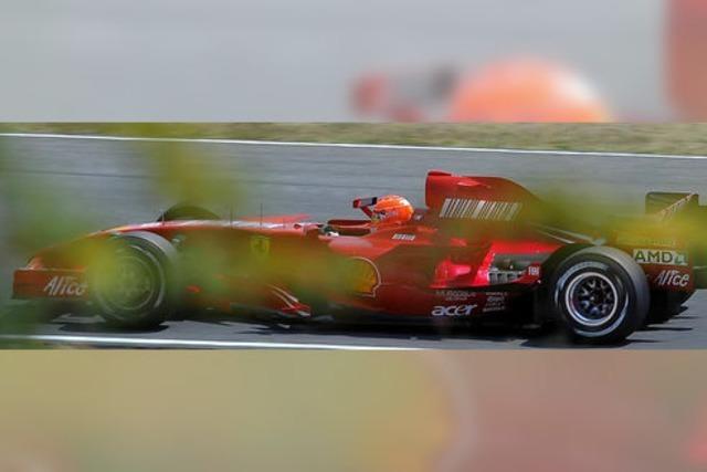 Michael Schumacher gibt wieder Gas – vorerst nur im Gebrauchtwagen