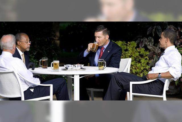 Auf ein Bier bei Obama