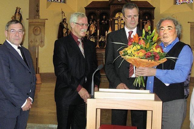 Pfarrer geht in Ruhestand