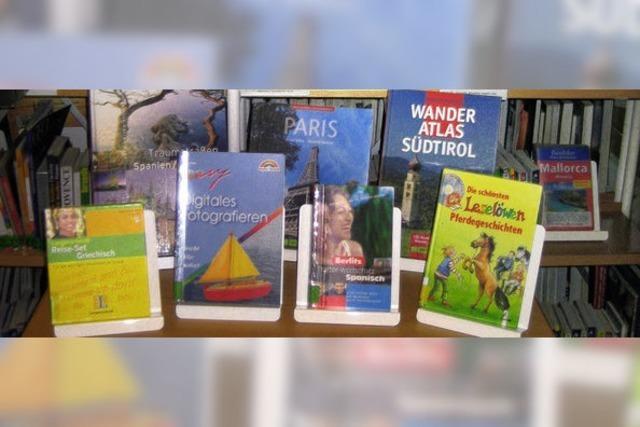 Lesend auf Reisen gehen