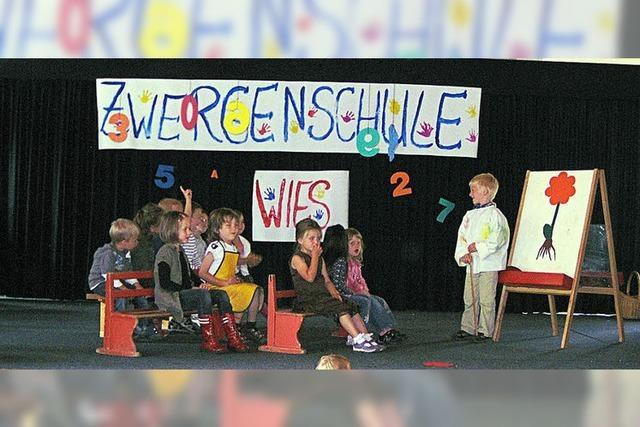 Zwergenschule eröffnet