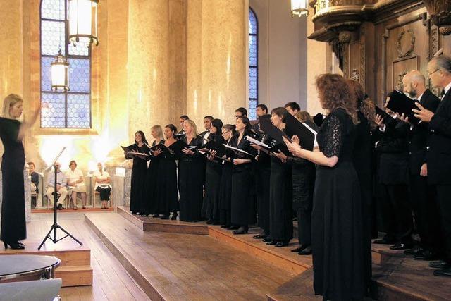 Kirchenmusik der venezianischen Schule bezaubert im Dom