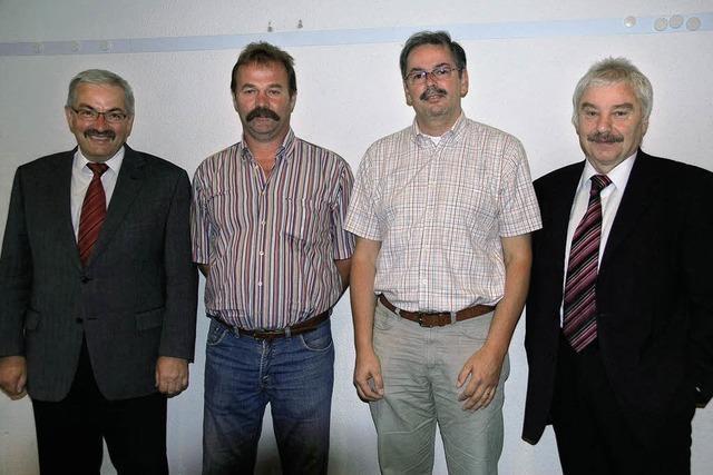Der Ibacher Gemeinderat macht sich an die Arbeit