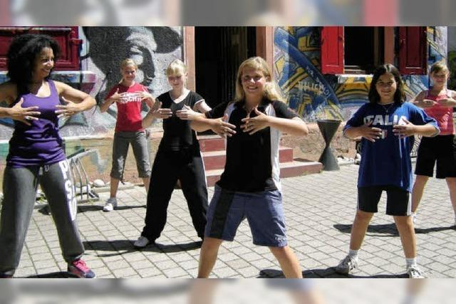 Den Spaß am Tanzen im Jugendhaus gefördert