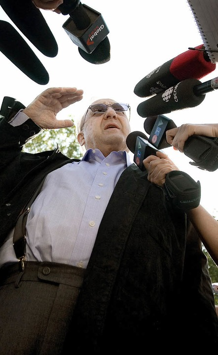 Sieht sich zu Unrecht ausgeliefert: Ka...tsanwalt Reinhard Nemetz ist am Ziel.   | Foto: DOA