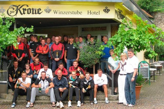 Deutschlands beste Ruderer logierten erneut in Achkarren
