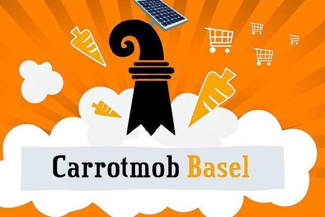 Carrotmob-Anhänger wollen Basler Laden stürmen