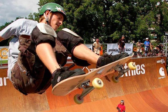 Die Skater suchen wieder ihre Besten