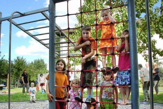 Neuer Spielplatz für Kinder
