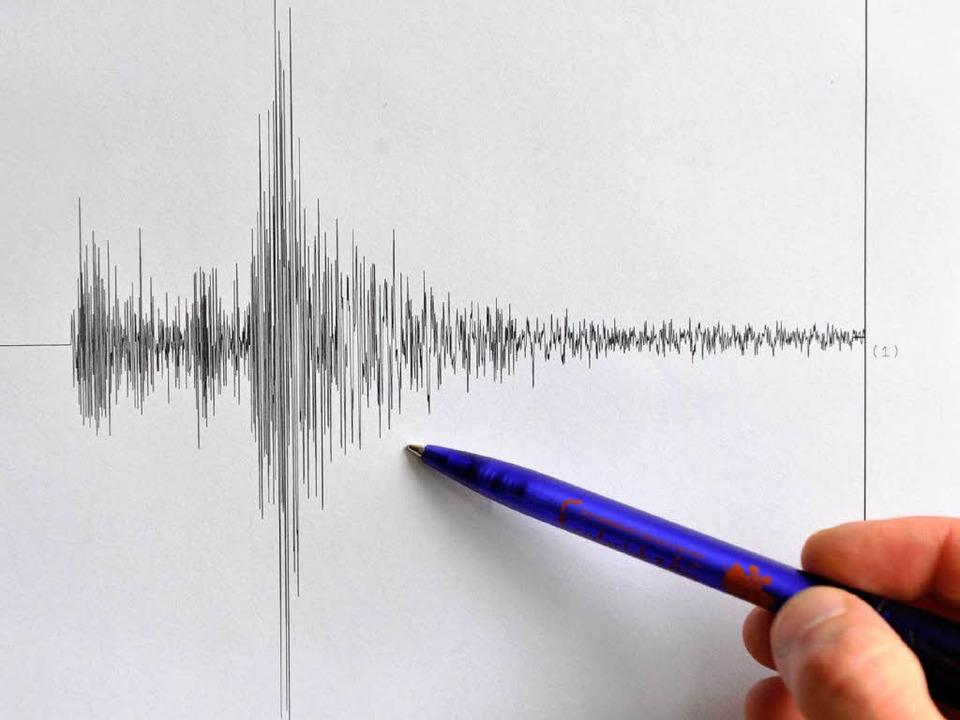 Ein Erdbeben der Stärke 4,5 hat am frü... Süden Baden-Württembergs erschüttert.  | Foto: dpa