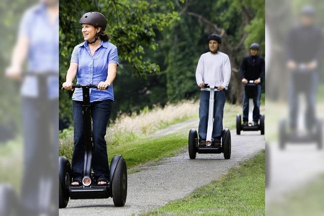 FAHREN MIT KÖRPERGEFÜHL: Mobilität im Stehen