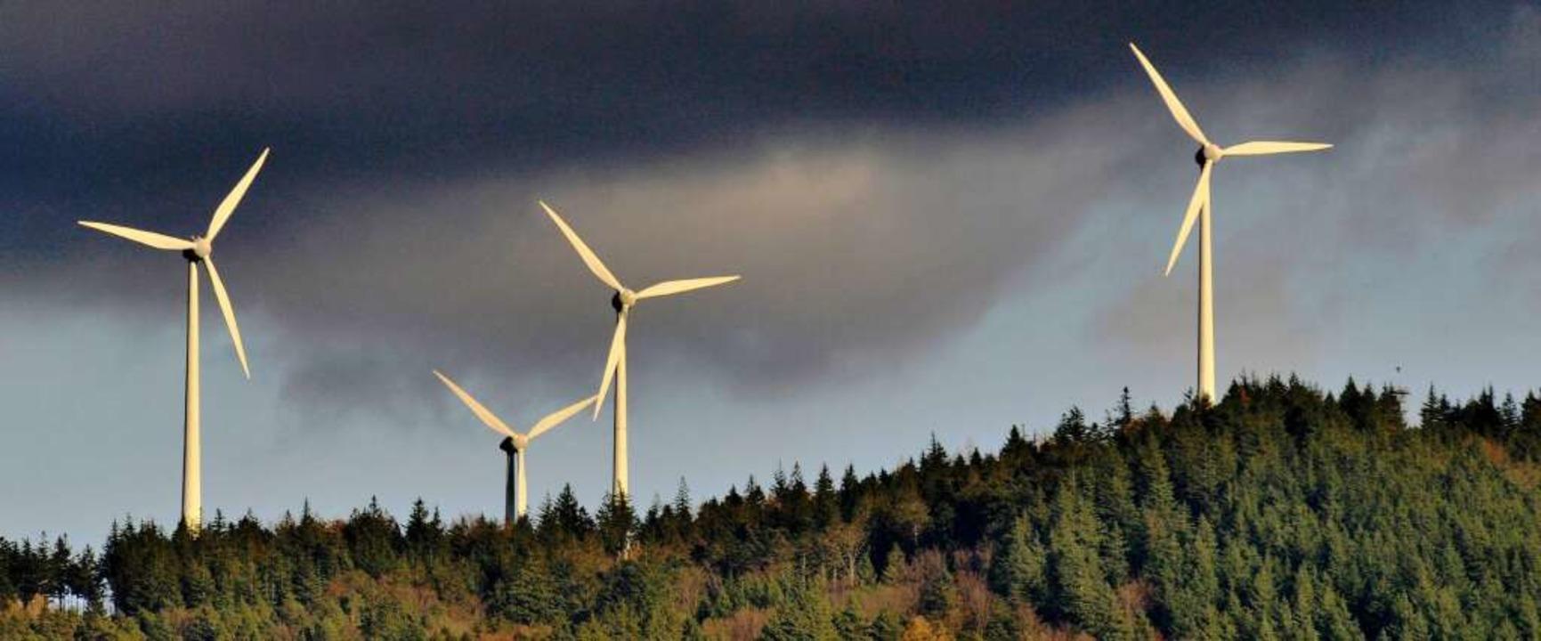 Die Windmühlen am Rosskopf sollen Zuwa... liegende Hornbühl wäre eine Variante.  | Foto: Ingo Schneider