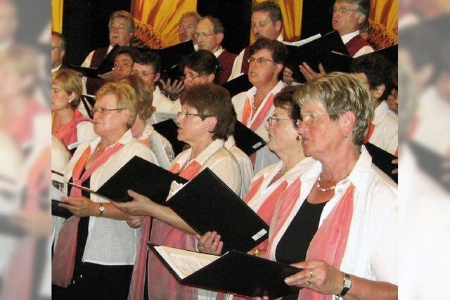 Seit zehn Jahren ein Chor