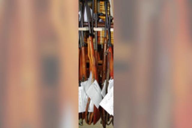 Waffengesetz verschärft