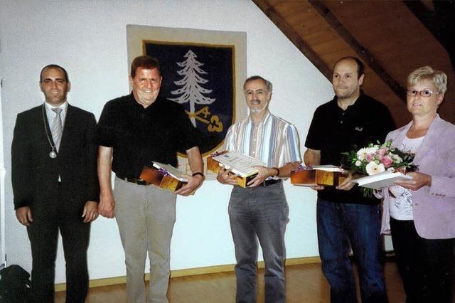 Harmonischer Wechsel im Gemeinderat St. Peter