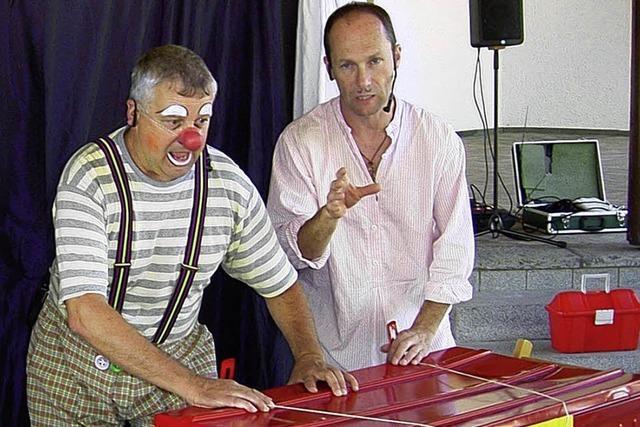 Gespenster bei den zwei Clowns