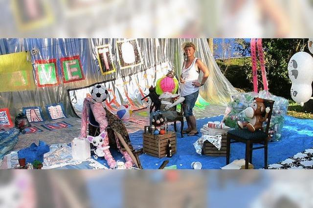 Kunst – mal schrill, mal ganz feierlich