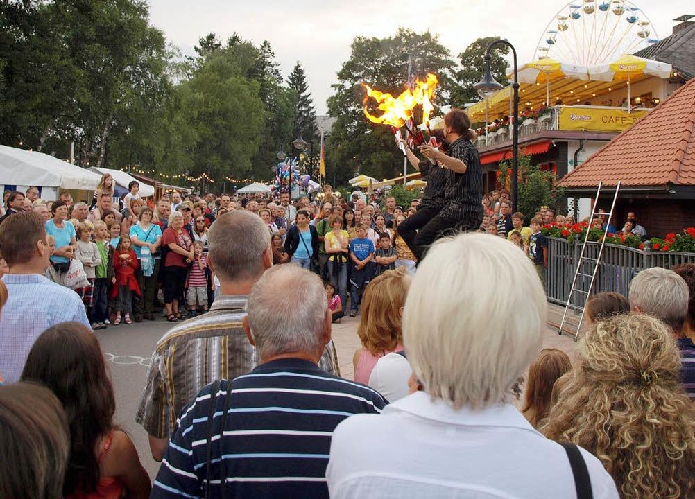 Über mangelndes Zuschauerinteresse kon...achtsfest in Titisee nicht beklagen.    | Foto: Marion Pfordt