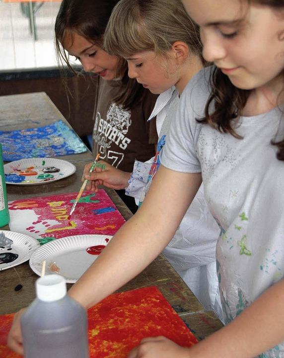 Gundelfinger Kinder-Kreativ-Tag  | Foto: Andrea Steinhart