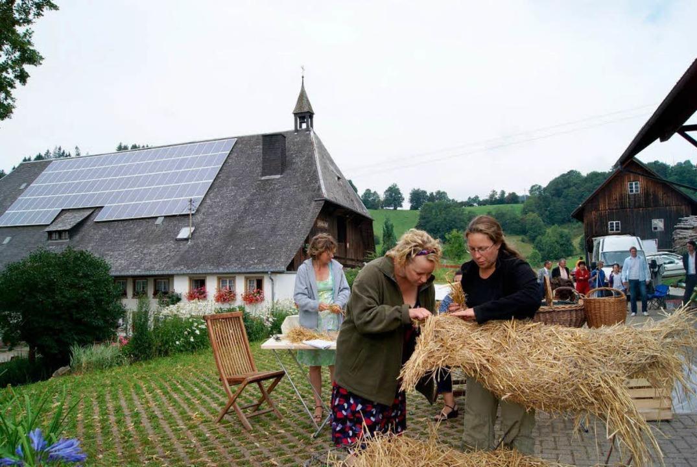 Gretas Mutter Annette Hansen (Floriane...te) engagiert sich bei den Landfrauen.    Foto: karlheinz scherfling