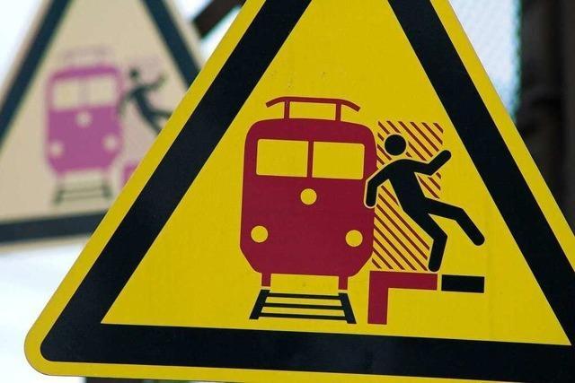 Fotos: Protest gegen den Ausbau der Rheintalstrecke