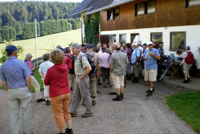 BZ-WANDERUNG: Kirche in Waldau und der Schlenzenhof