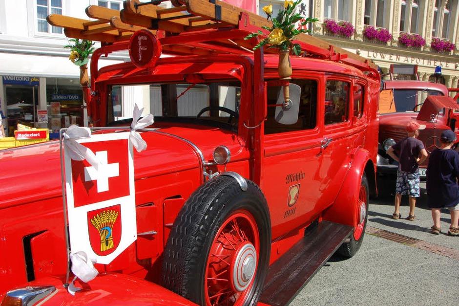 Historischer Tag der Frewilligen Feuerwehr Lörrach<?ZP?> (Foto: Nikolaus Trenz)