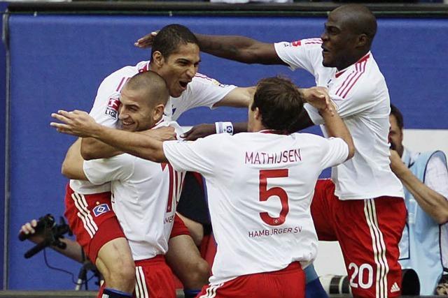 Wolfsburg weiter an der Tabellenspitze