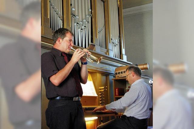 Musik aus der Barockzeit zum Kirchenpatrozinium