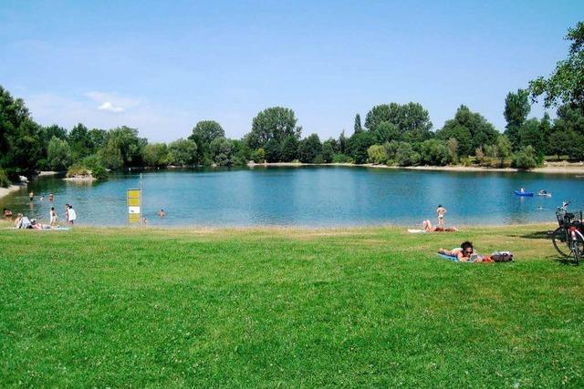 Hautauschläge am Dietenbachsee: Lassen sich Badegäste abschrecken?