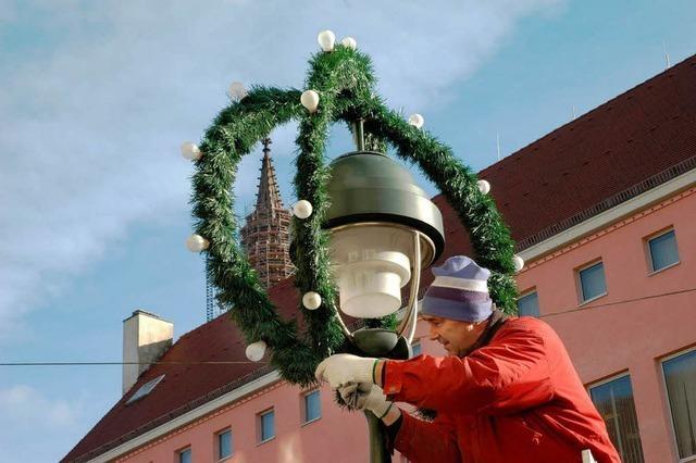Finstere Aussichten für den Freiburger Weihnachtsglanz