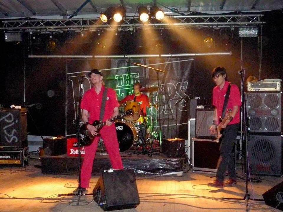 "Sie brachten Berliner Punk-Atmosphäre ...Rastplatz: ""The Bottrops"".  | Foto: Daniela Rüde"