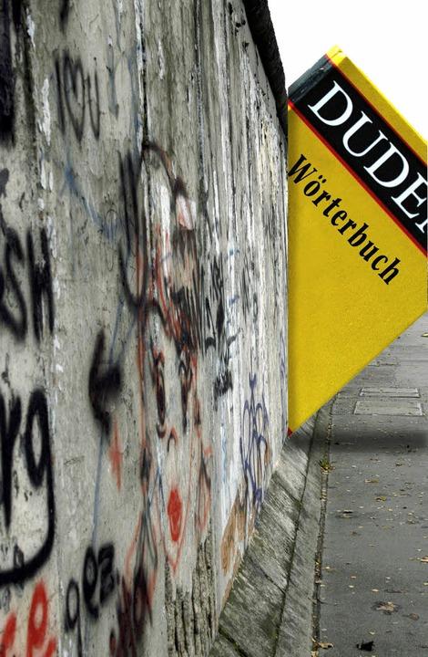 Spaltete nicht nur die Deutschen, sond...che: die Grenzezwischen  BRD und DDR.   | Foto:  dpa/Montage: Josef Dresemann
