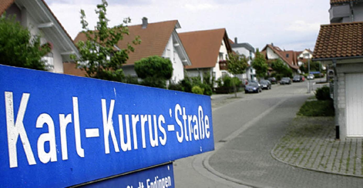 Die Karl-Kurrus-Straße  | Foto: D. Seitz