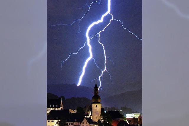 BZ-SOMMERQUIZ: Sommerzeit – Gewitterzeit
